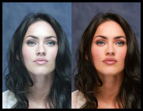 1 megan_fox CELEBRITIES BEFORE AND AFTER PHOTOSHOP  hollywood actress model top best famous popular